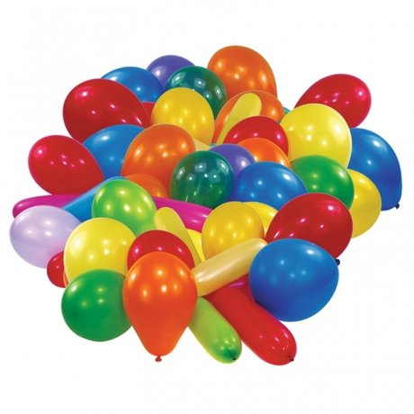 Assorted Colours Premium Latex Balloons