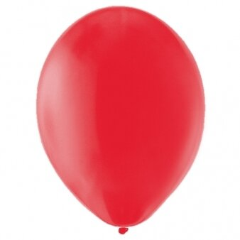 "11"" Red Plain Latex - Pack of 100"