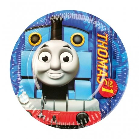 Thomas & Friends Paper Plates 18cm - 8