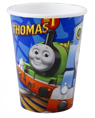 Thomas & Friends Paper Cups 250ml - 8