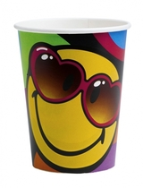 Smiley Express Yourself Cups - 8