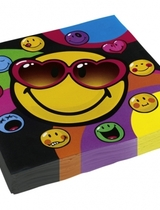 Smiley Express Yourself Napkins - 20